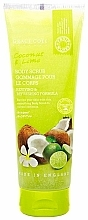 Parfémy, Parfumerie, kosmetika Tělový peeling Kokos a limeta - Grace Cole Fruit Works Coconut & Lime Body Scrub