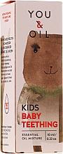 Parfémy, Parfumerie, kosmetika Směs esenciálních olejů pro děti - You & Oil KI Kids-Baby Teething Essential Oil Mixture For Kids