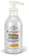 """Parfémy, Parfumerie, kosmetika Tekuté mýdlo Marseilles """"Pomeranč"""" - Ma Provence Liquid Marseille Soap Orange"""