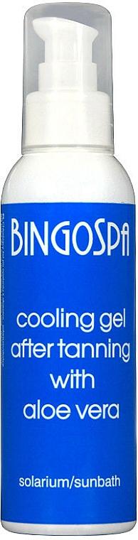 Ochlazující gel po opalování s aloe vera - BingoSpa Cooling Gel — foto N1