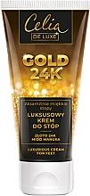 Parfémy, Parfumerie, kosmetika Luxusní krém na nohy - Celia De Luxe Gold 24K Luxurious Foot Cream