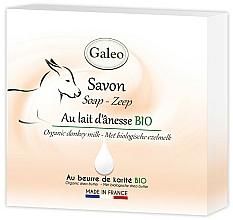 Parfémy, Parfumerie, kosmetika Mýdlo s oslím mlékem - Galeo Soap Organic Donkey Milk