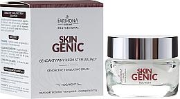 Parfémy, Parfumerie, kosmetika Genetický stimulační aktivní noční krém - Farmona Professional Skin Genic
