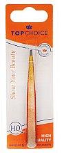 Parfémy, Parfumerie, kosmetika Pinzeta šikmá Epoxy Glitter, 75995, žlutá - Top Choice