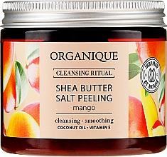 "Parfémy, Parfumerie, kosmetika Solný peeling ""Mango"" - Organique Shea Butter Salt Peeling Mango"