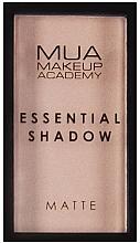 Parfémy, Parfumerie, kosmetika Oční stíny - MUA Essential Shadow Matte (Mushroom)