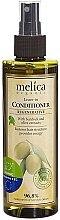Parfémy, Parfumerie, kosmetika Bezoplachový regenerační kondicionér na vlasy s extrakty z lopuchu a oliv - Melica Organic Leave-in Regenerative Conditioner