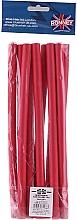 Parfémy, Parfumerie, kosmetika Profesionální pružné natáčky na vlasy 12/240, červené - Ronney Professional Flex Rollers