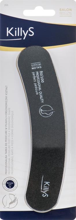 Pilník na pedikúru 80/100, 963766 - KillyS Pedicure Nail File