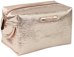 """Parfémy, Parfumerie, kosmetika Kosmetická taška """"Rose Gold"""" obdélníková 4992, zlatá - Donegal"""