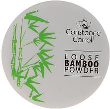Parfémy, Parfumerie, kosmetika Sypký bambusový pudr na obličej - Constance Carroll Loose Bamboo Powder