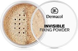 Parfémy, Parfumerie, kosmetika Transparentní fixační pudr - Dermacol Invisible Fixing Powder