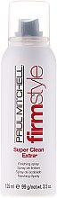 Parfémy, Parfumerie, kosmetika Lak se silnou fixací - Paul Mitchell Firm Style Super Clean Extra