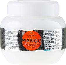 "Parfémy, Parfumerie, kosmetika Maska na vlasy ""Mango"" - Kallos Cosmetics Mango"