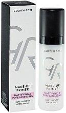 Parfémy, Parfumerie, kosmetika Primer na obličej - Golden Rose Make-Up Primer Mattifying & Pore Minimising