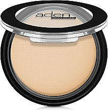 Parfémy, Parfumerie, kosmetika Kompaktní pudr pro matný vzhled - Aden Cosmetics Silky Matt Compact Powder