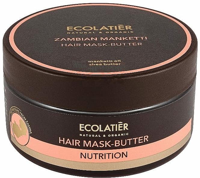 Máslová maska na vlasy Mongongo ořech - Ecolatier Butter Mask