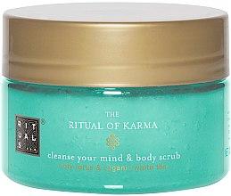 Parfémy, Parfumerie, kosmetika Peeling na tělo - Rituals The Ritual of Karma Body Scrub