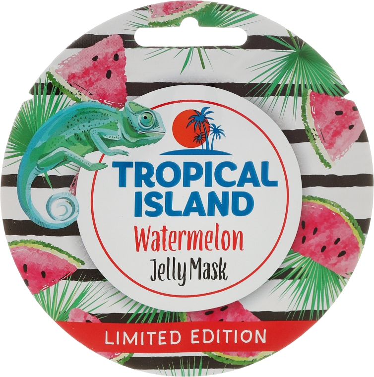 "Maska na obličej ""Meloun"" - Marion Tropical Island Watermelon Jelly Mask"
