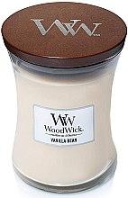 Parfémy, Parfumerie, kosmetika Vonná svíčka ve sklenici - WoodWick Hourglass Candle Vanilla Bean