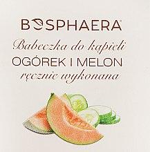 Parfémy, Parfumerie, kosmetika Koupelová bomba Okurka a meloun - Bosphaera