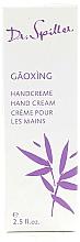 Parfémy, Parfumerie, kosmetika Krém na ruce - Dr. Spiller Gaoxing Hand Cream