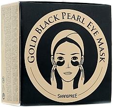 Parfémy, Parfumerie, kosmetika Hydrogelová oční maska s pudrem z černé perly - Shangpree Gold Hydrogel Eye Mask