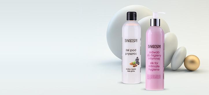 K nákupu produktů BingoSpa v hodnotě nad 327 Kč získej gel pro intimní hygienu jako dárek