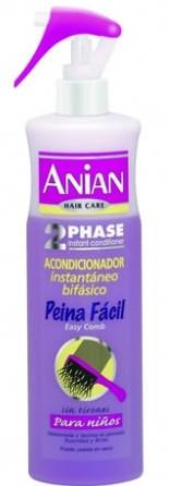 Dvoufázový kondicionér pro dětské vlasy - Anian Conditioner Biphasic Easy Comb — foto N1