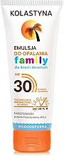 Parfémy, Parfumerie, kosmetika Rodinná opalovací emulze - Kolastyna Family Suncare Emulsion SPF 30