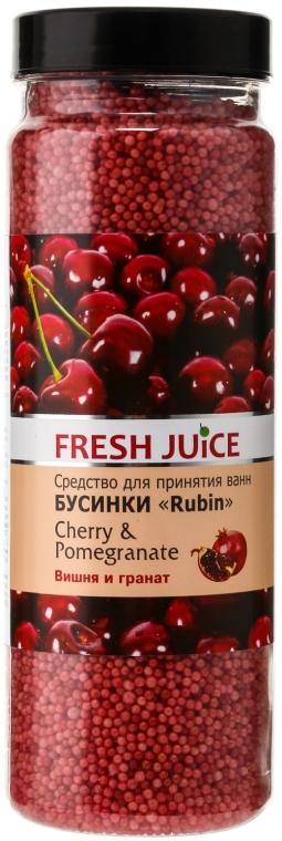 Koupelové kuličky - Fresh Juice Bath Bijou Rubin Cherry and Pomergranate