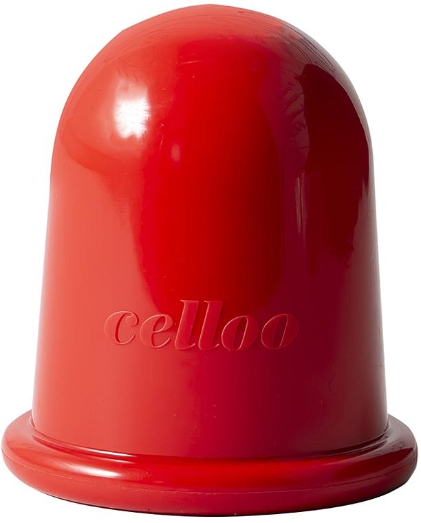 Silikonová anticelulitidová masážní vakuová baňka - Celloo Anti-cellulite Cuddle Bubble Regular
