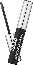 Parfémy, Parfumerie, kosmetika Transparentní fixační gel na obočí - Pupa Transparent Eyebrow Fixing Gel