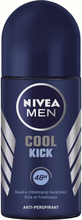 """Kuličkový deodorant """"Cool Kick"""" - Nivea Cool Kick 48 hour — foto N1"""