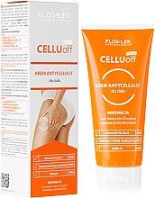 Parfémy, Parfumerie, kosmetika Anticelulitidový krém na tělo - Floslek Slim Line Anti-Cellulite Body Cream Cellu Off