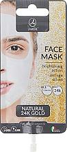 Parfémy, Parfumerie, kosmetika Pleťová maska se zlatem - Lambre Natural 24K Gold Face Mask
