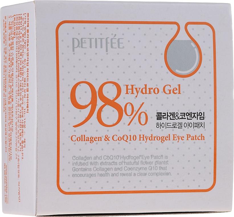 Hydrogel oční náplasti s kolagenem a koenzymem - Petitfee & Koelf Collagen & Co Q10 Hydrogel Eye Patch