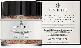 Parfémy, Parfumerie, kosmetika Anti-age gel pro rozjasnění pleti - Avant Instant Radiance and Anti-Ageing Gel Charmer Gold & Bronze