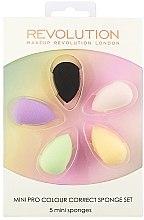 Sada houbiček na make-up - Makeup Revolution Mini Pro Colour Correct Sponge Set — foto N1