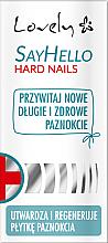Parfémy, Parfumerie, kosmetika Kondicionér pro křehké nehty - Lovely Say Hello Hard Nails