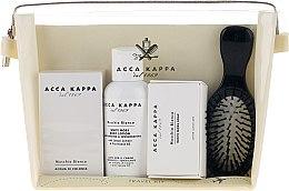 Parfémy, Parfumerie, kosmetika Sada - Acca Kappa (edp/30ml + b/lotion/100ml + soap/50g + hairbrush)