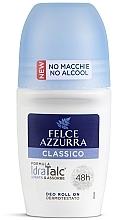 Parfémy, Parfumerie, kosmetika Kuličkový deodorant - Felce Azzurra Deo Roll-on IdraTalc Classic