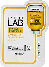 Parfémy, Parfumerie, kosmetika Plátýnková maska na obličej s vitamínem C - Tony Moly Master Lab Vitamin C Mask