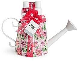 Parfémy, Parfumerie, kosmetika Sada - IDC Institute Royal Garden (sh/g/150ml + b/lot/150ml + salt/100g + sponge)