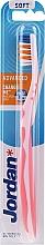Parfémy, Parfumerie, kosmetika Zubní kartáček měkký, růžový - Jordan Advanced Soft Toothbrush