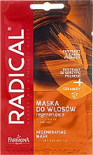 """Parfémy, Parfumerie, kosmetika Maska na vlasy """"Suché, křehké vlasy"""" - Farmona Radical Mask"""