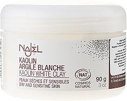 """Parfémy, Parfumerie, kosmetika Kosmetický jíl """"Bílý"""" - Najel Clay In Powder White"""