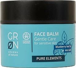 Parfémy, Parfumerie, kosmetika Pleťový balzám - GRN Pure Elements Blueberry & Sea Salt Face Balm
