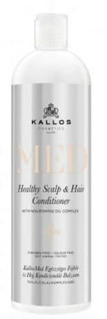 Vyživující kondicionér na vlasy a pokožku hlavy - Kallos Cosmetics MED Healthy Scalp & Hair Conditioner — foto N1
