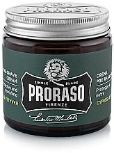 Parfémy, Parfumerie, kosmetika Krém před holením - Proraso Cypress & Vetyver Pre-Shaving Cream